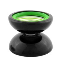 Wholesale Professional YoYo Metal Ball Bearing Reel Yo Yo Trick Gimmick Gift Kid Educational Toy Black Green