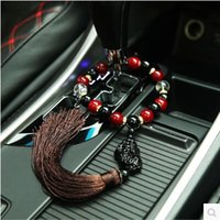 Wholesale Auto accessories Car hang act the role ofing is tasted Gear beads rearview mirror pendants The mythical wild animal auto supplies