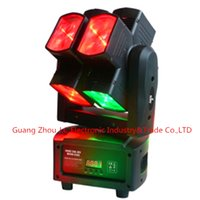 Wholesale 2016Newest DMX LED Moving Head Light LED Stage Light w in1 RGBW JC L0810 CH and CH