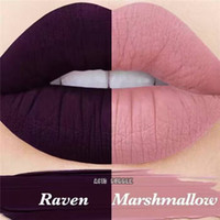 Cheap Raven marshmallow I have 2 MOODS velvetiness liquid matte lipstick select one shade 2pcs set free shipping DHL