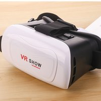 Wholesale hot sale high quality Plastic head mounted inch android ios VR virtual reality smartphone d VR glasses