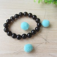 Wholesale 30Pcs types of size Big eye beading needles DIY hand work tool for hand make necklace bracelet etc