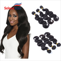 Wholesale Brazilian Body Wave Human Hair Extensions Brazilian Hair Bundles Peruvian Brazilian Human Hair Weft A Great Quality