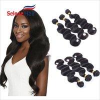 Wholesale Brazilian Hair Body Wave Hair Weaves Human Hair Extensions Brazilian Hair Bundles Peruvian Hair Brazilian Human Hair Weft A Great Quality