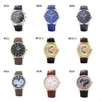 anti shock watch - New arrival Quartz Wrist watches fashion business strap watch power reserve unisex the anti fatigue watches pieces a mix color DFMWH13