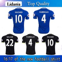 in season clothing - jersey home and away in the premier league season custom football shirts with short sleeves FABREGAS football clothes