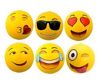 Precio de Los niños juegan-Bolas inflables de la playa Bolas inflables del Emoji 18 pulgadas 6-Pack Globos inflables del agua de la playa de Emoji Bolas para los cabritos y el juego al aire libre adulto