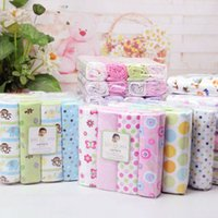 Wholesale Baby Bed Sheets Cotton Newborn Baby Blanket Set x76cm