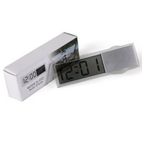 best car dashboard - New Best Promotion Suction Cup Sticker Auto Car Dashboard Windscreen Digital LCD Display Mini Clock