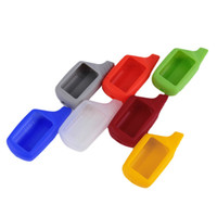 Wholesale 8 color Russian version B9 case silicone case for Starline B9 lcd two way car alarm system remote controller FM Transmitter