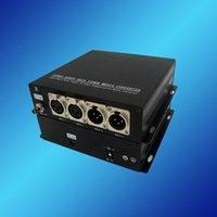 balanced audio converter - 2ports Forward Balance Audio port Reversed Balance Audio over Fiber Transceiver XLR Connector Balanced Bidirectional Audio Transceiver