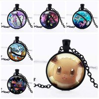 animal friendship - Poke Pendant Necklace Fashion Jewelry Mon Go Necklace Rotatable Pendant Friendship Gift Men Women Movie Choker Necklace Accessories
