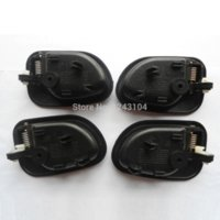 accent driver - 95 Hyundai Accent Inside Driver Passenger Side Left Right Door Handle Set free ship china