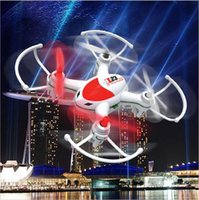 Wholesale Mini RTF Drone CX23 CX24 RC Helicopter G CH Axis Gyro Lighting Aircraft Remote Control Quadcopter Toys LED Airplane for Boys Kids Gift