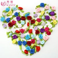 hand embroidered garments - 2016 New Fallout Wan Yu S Diy Handmade Flower Materials Rose Hand Pyrographic Decorative Hair Decoration Garment Accessories