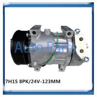 Wholesale Sanden H15 compressor for Scania Heavy Trucks DIESEL
