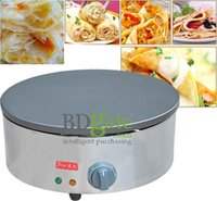 Wholesale v v Commercial use Hand cake machine India fly pie machine electric crepemaker Crepe maker Non stick coating