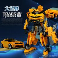 Wholesale 4 deformation suit Cartoon robot car model children s toys