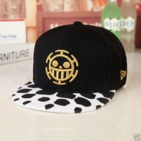Wholesale Cosplay Trafalgar Law One Piece Baseball Caps Sunhat Anime Hats Gift