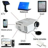 Wholesale Mini Home Cinema Theater P HD Multimedia USB LED Projector AV TV VGA HDMI JD