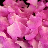 Wholesale New Wedding Decorations Fashion Atificial Flowers Silk Wedding Rose Petals patal