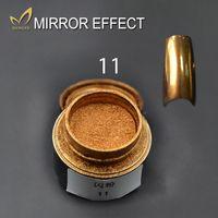 aluminium effects - 2g bottle Mirror Effect Powder Gold Silver Pigment Ultrafine Powder Aluminium Powder Chrome Pigment Nail Glitters Sequins Nail