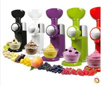 Wholesale Fruit ice cream machine household electric ice cream machine Children DIY homemade ice cream machine ice machine