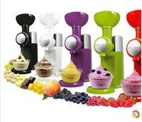 Wholesale Fruit ice cream machine household electric ice cream machine Children DIY homemade ice cream machine ice machine