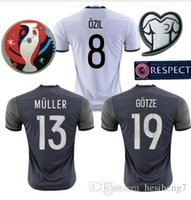 Wholesale new Germany away jersey Top Thai Quality men survetement Soccer Jersey Home maillot de foot shirts