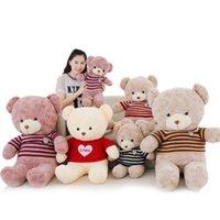 bear hug - New Year for Christmas Hug the bear doll Rose bear sweater teddy bear doll plush toys girlfriend birthday