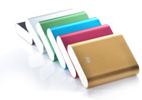 Wholesale Xiaomi power bank mAh portable power bank external emergency battery for mobile phone tablet pc ipad