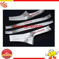Wholesale Car styling Interior welcome pedal door sill strip Door Sill Scuff Plate Welcome Pedal threshold For FORESTER