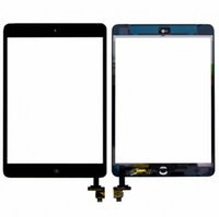 Wholesale For iPad mini Touch Screen Glass Digitizer Assembly with IC with Home Button Adhesive Glue Sticker Replacement Repair Parts mini