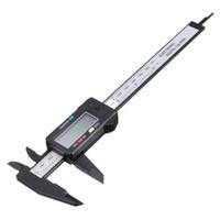 Wholesale High Quality quot Inch mm Carbon Fiber Composites Vernier Digital Electronic Caliper Ruler New Arrival