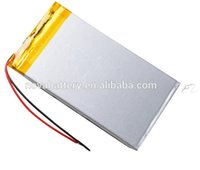 bank dvd - 3 V mah Lithium Polymer Li Po Rechargeable Battery For PAD DIY E Book GPS PSP DVD Power bank Tablet PC
