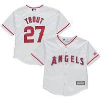 baby mike - Cheap youth Los Angeles Angels Mike Trout Baby old year Cool Base toddler Jersey stitched S L