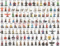 Wholesale DHL Marvel Super Heroes Avengers Batman Star Wars MinifiguresBuilding Blocks Bricks Figures