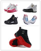 china shoes children - HOT Sale red black kids China Jordan Shoes Basketball Sneakers children French white Sports China Jordans Shoes Retro XI