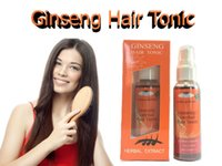 Wholesale Long Hair Growth Tonic Ginseng Hair Loss Treatment Promote Regrowth Natural fast free ship
