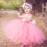 Wholesale Beautiful Infant Princess Girl Fashion Dress Baby Flower Girl Dresses For Weddings Year Birthday Dress Vestidos Infantil Festa
