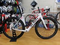 bicycle front forks - 2016 DEROSA SK full carbon fiber bike bicycle frame K UD t1000 white color frame cm bb386 bb30 bb68 front fork glossy matte