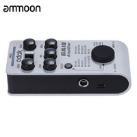 Cheap GA10 Innovative Amplifier Guitar Effect Pedal Effector Multi-effects Processor LED Display Powered by USB Cable