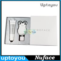 Wholesale Nuface Mini Facial Toning Anti Aging Skin Care Treatment Device Nuface facial massager device facial trainer kit Beauty Equipment