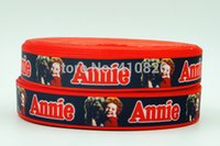 annie movie - ribbon OEM inch mm quot Annie quot movie star printed grosgrain ribbon webbing yards roll for headband hair tie