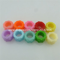 acrylic plastic tubes - 50X Candy Color Plastic Acrylic Spacer Beads mm Tube Hole mm Jewelry Findings