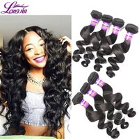 Wholesale Bella Dream Hair Cheap Brazilian Loose Wave Hair Extension g Unprocessed Brazilian Hair Natural Human Hair Weave Bundle Deals