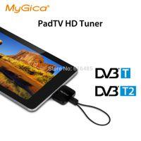 Wholesale DVB T2 receiver Geniatech PT360 Watch DVB T2 DVB T TV on Android Phone Pad USB TV tuner pad TV stick