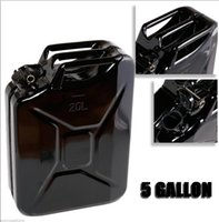 Wholesale Military NATO Style L Storage Can Black Gallon Jerry Can Gas Fuel Steel Tank Tough Steel Construction