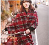 Wholesale 2016 winter two side use imitation pushmina Tartan shawl high quality elegant popular scarf cachmire shawl GL SZC004