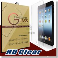 Wholesale For iPad Mini NEW Ipad PRO PRO inch Screen Protector Shatterproof Anti Scratch HD Clear iPad Mini iPad Air Tempered Glass